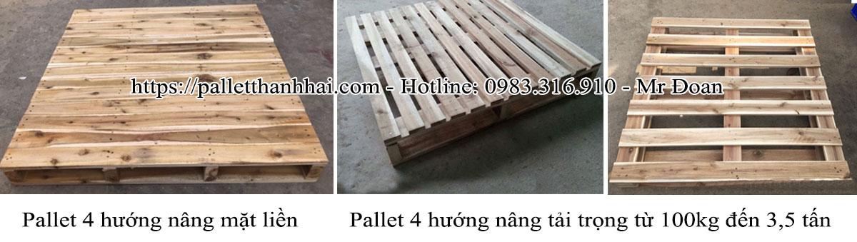 Pallet gỗ giá ưu đãi mùa covid